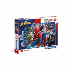 Puzzle 30 Piezas Marvel Spiderman