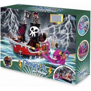 Pinypon Action Barco Pirata