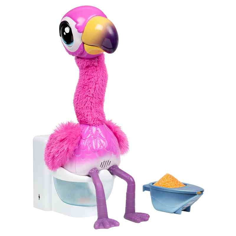 Flamingo the Poop