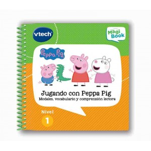 Libro Magibook Peppa Pig