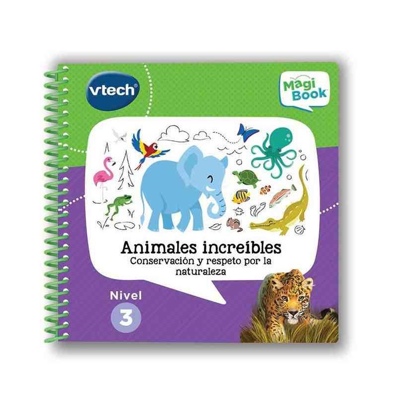 Libro Magibook Animales Increíbles