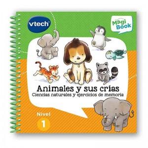 Libro Magibook Animales y sus Crías.