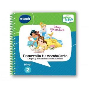 Libro Magibook Princesas Disney Desarrolla tu Vocabulario