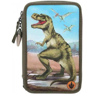 Dino Wordl Estuche Triple