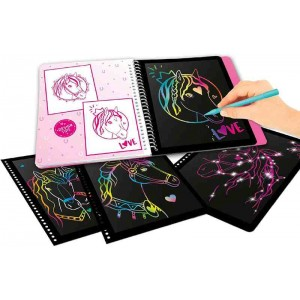 Miss model Cuaderno Magic Scratch