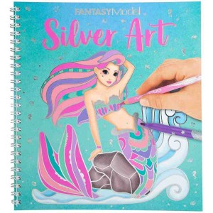 Fantasy Model Libro para Colorear Silver