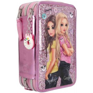 Top Model Estuche Colores Candy Cake