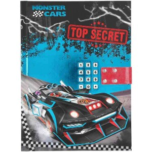 Monster Cars Diario Secreto