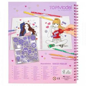 Top Model Libro para Colorear