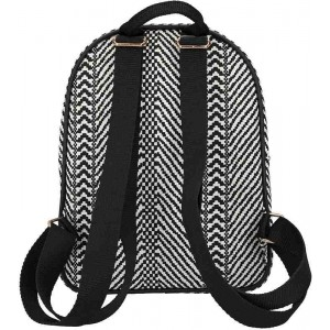 Top Model Mochila Black & White