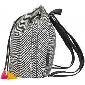 TOP Model Bolsa porta Black & White