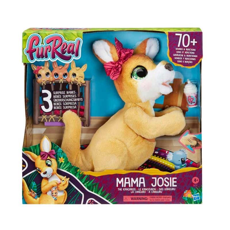 Mama Josie EL Kangaroo Fur Real Friends