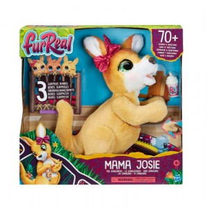 Mama Josie EL Kangaroo Fur Real Friends