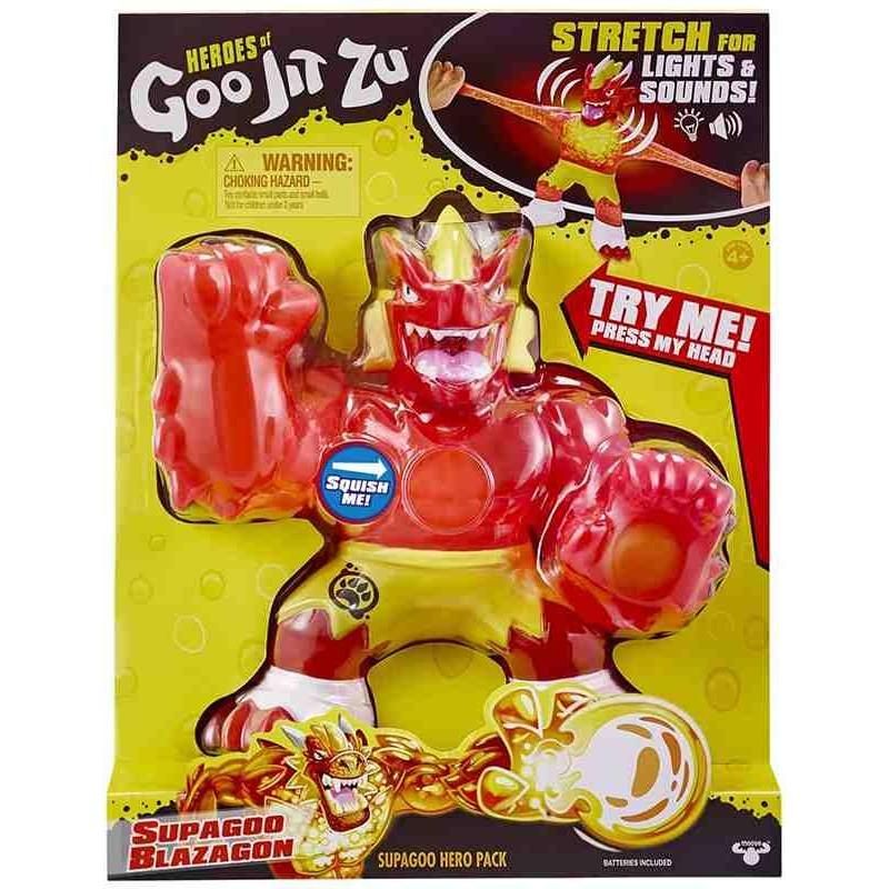 Super Figura Héroes GOO JIT ZU