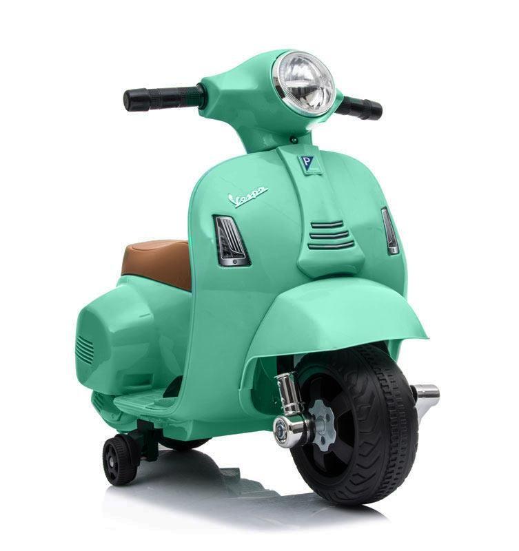 Mini Moto de Batería Vespa Verde