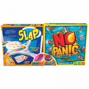 2 en 1 Juegos Slap y No Panic
