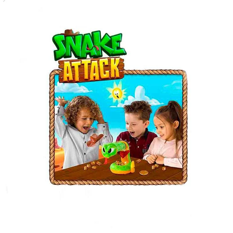 Juego Snake Attack