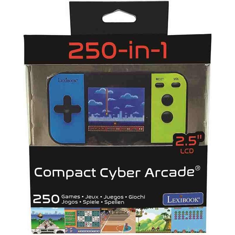 Consola Portátil Compact Cyber Arcade