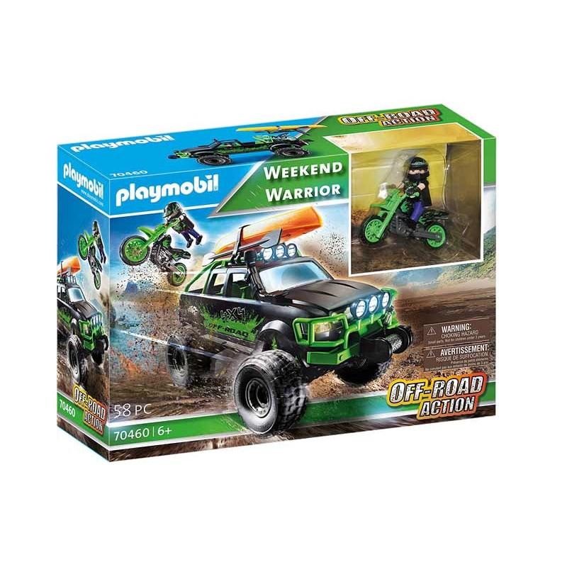 Playmobil Off Road Action Todoterreno Aventuras