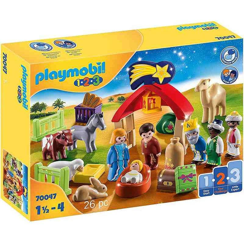 Playmobil 1.2.3  Mi primer Belén