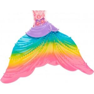 Barbie Sirena Luces Arcoiris
