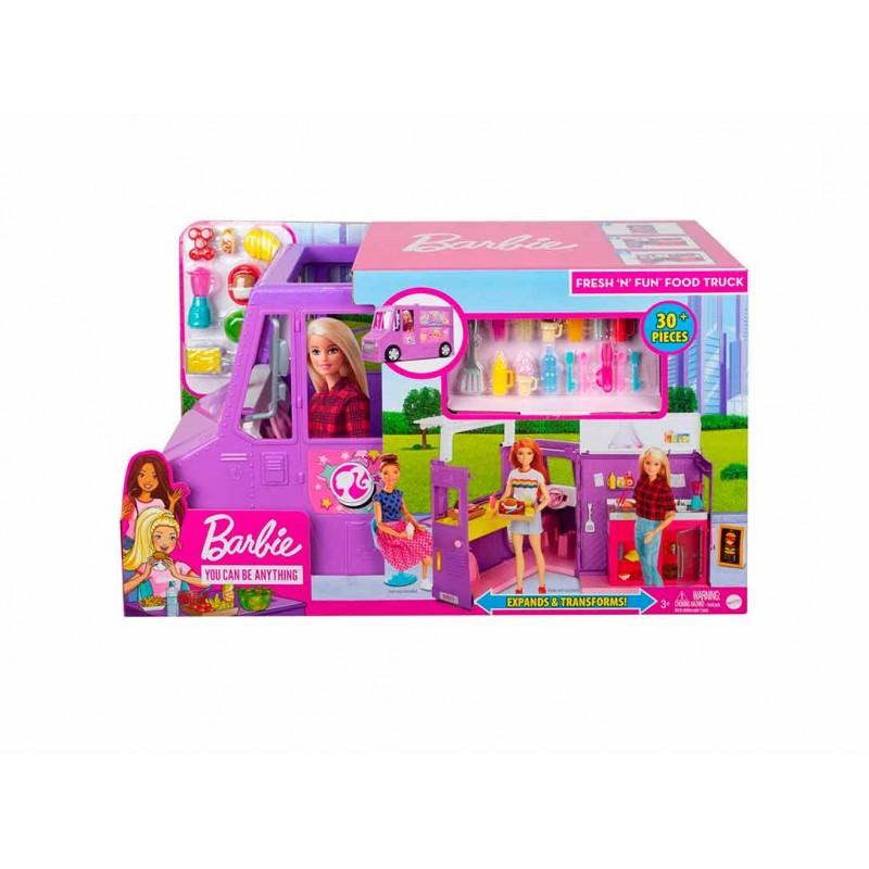 Barbie Camioneta de Comida