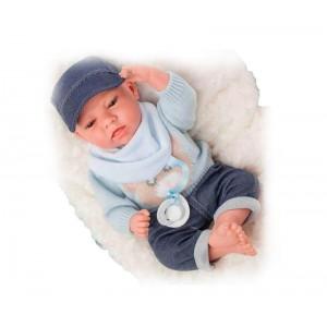 Muñeca Bebé Elegance Dafne Azul