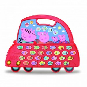 Peppa Pig el Auto Alfabeto