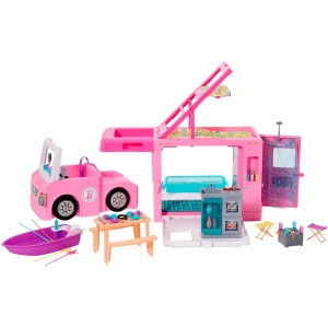 Barbie Autocaravana 3 en 1