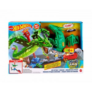 Hot Wheels Ataque Dragón Robótico