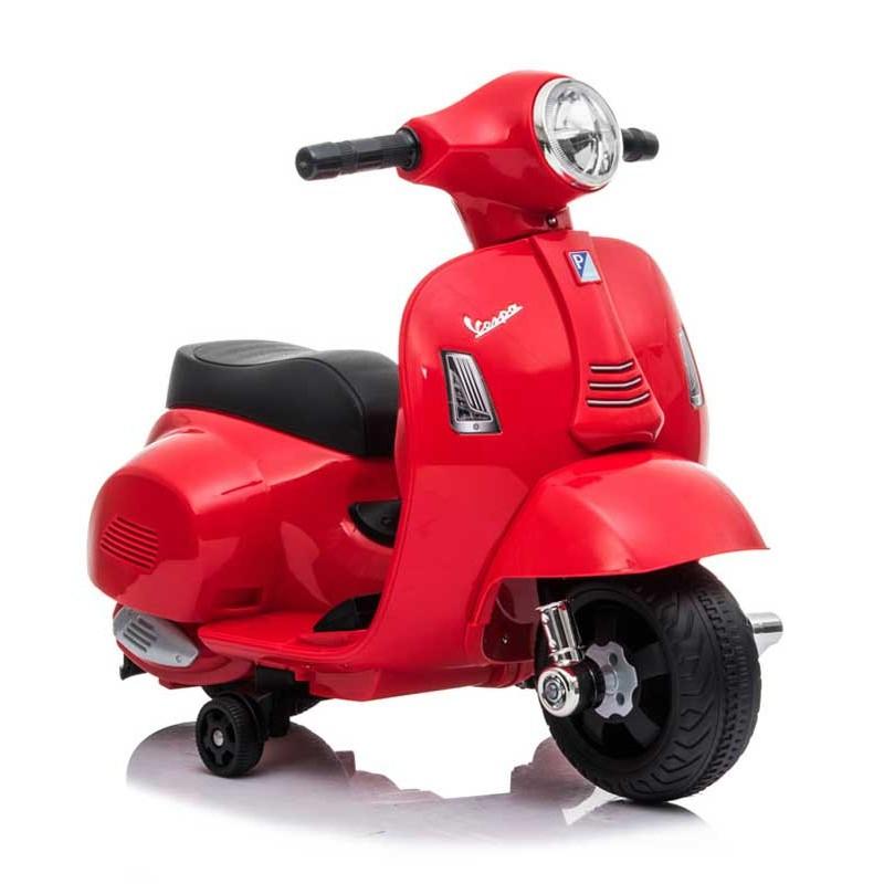 Mini Moto de Batería Vespa Rojo