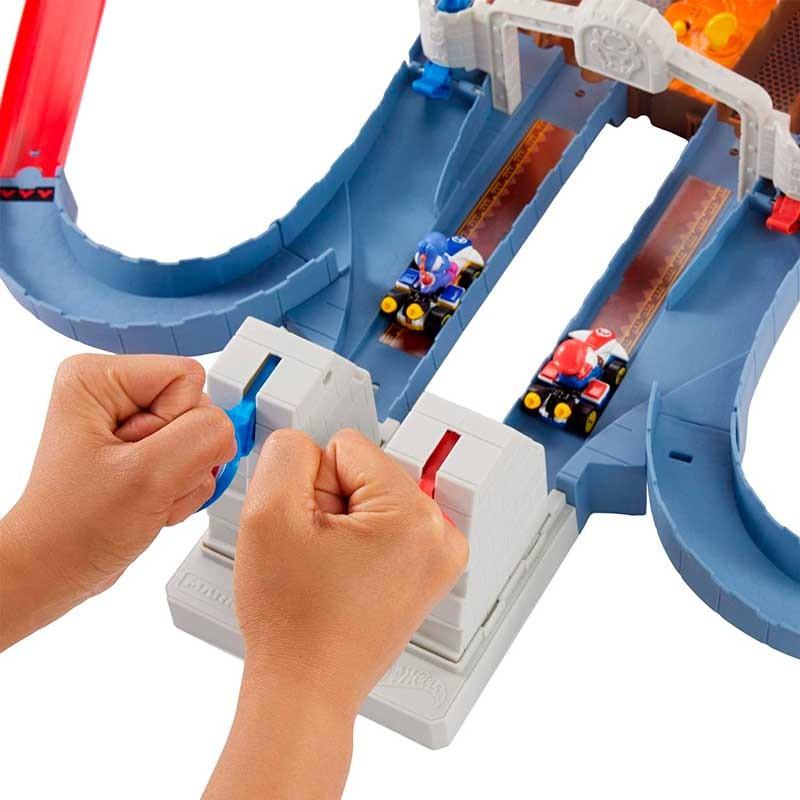 Hot Wheels Pista Bowser Mario Kart