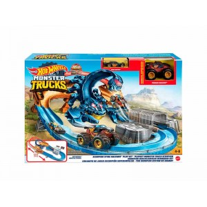 Hot Wheels Pista Escorpión Monster Trucks