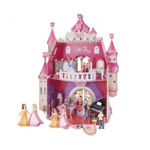 Puzzle 3D Cumpleaños Princesas