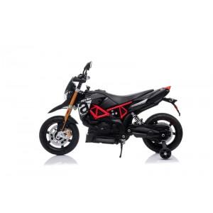 Moto Aprilia Negra de Batería 12V