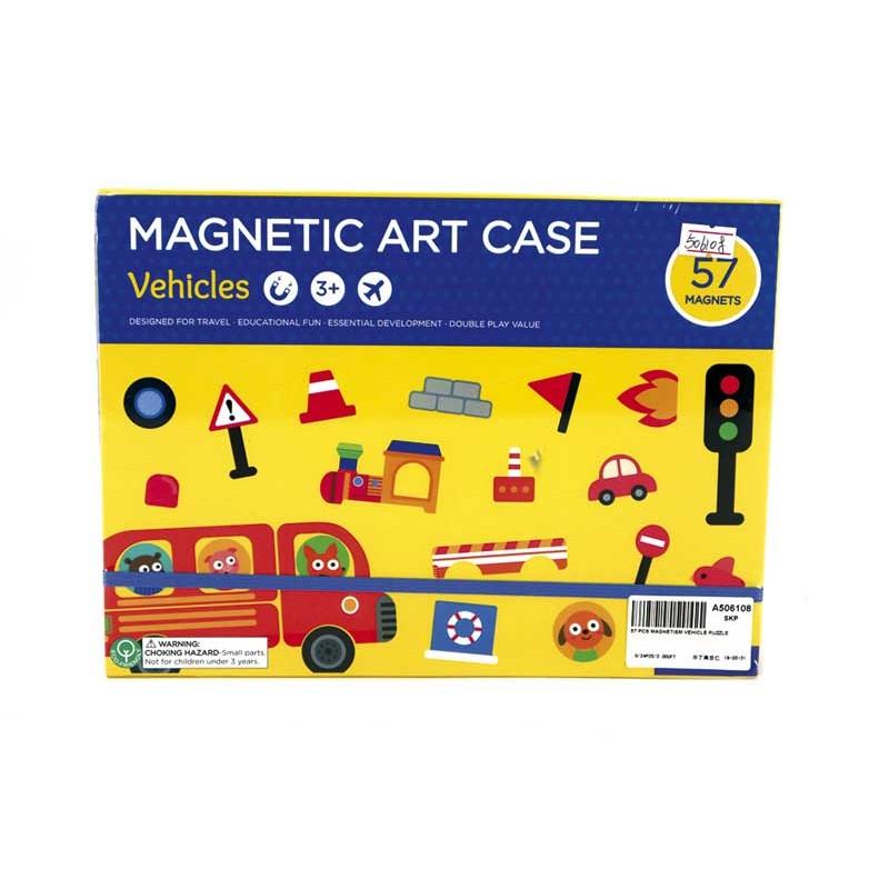 Puzzle Magnético Vehículos