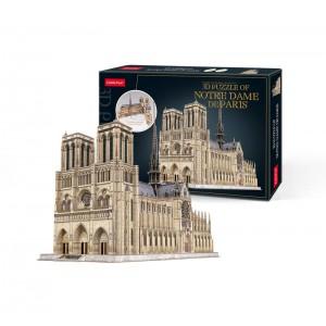 Puzzle Catedral Notre Dame 3D