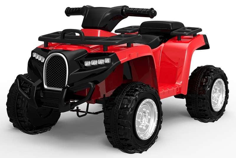 Quad para Niños Desert Rojo de Batería 6V