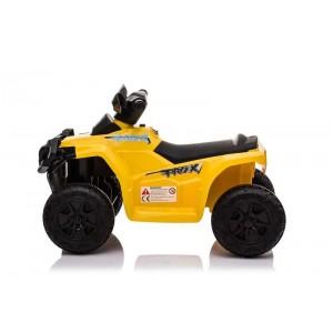 Quad Pro X Amarillo de Batería 6V