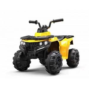 Mini Quad de Batería Amarillo para Niños