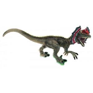 Mega Figura Dinosaurio Dilofosaurio Con Sonido