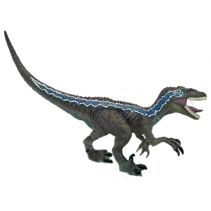 Mega Figura Dinosaurio Velociraptor Con Sonido