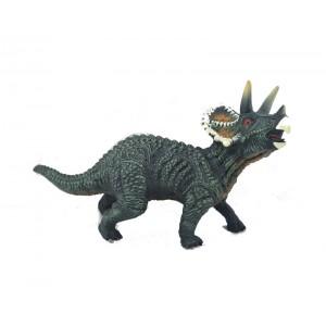 Figura Dinosaurio Triceratops Con Sonido