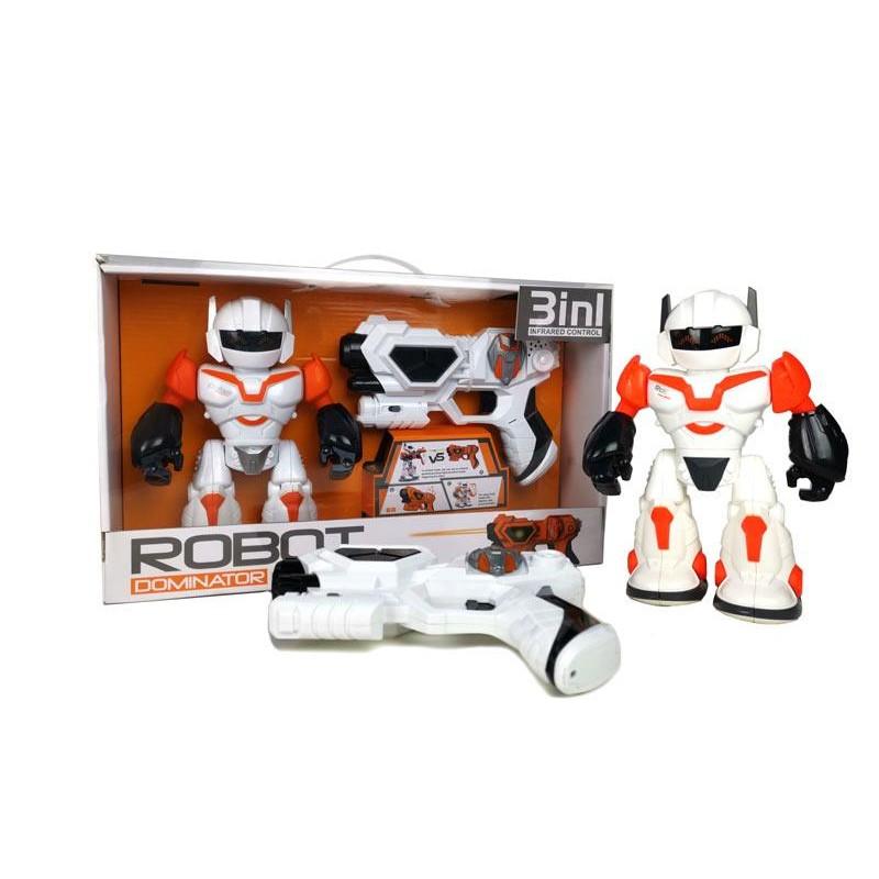 Robot y pistola con Funciones 3 en 1
