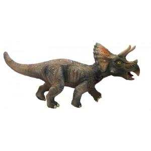 Mega Figura Dinosaurio Triceratops Con Sonido