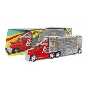 Alfombra de Juegos con Camión y Coches