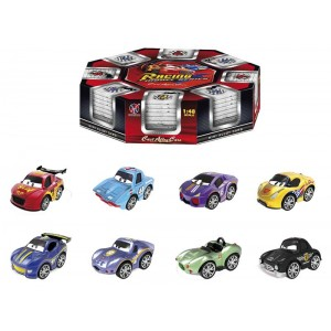 Pack 8 Mini Coches Racing Infantil