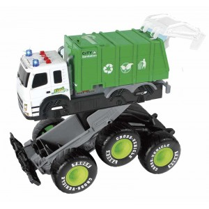 Camión de Basura Colisión Infantil