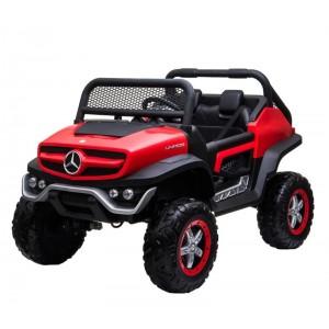 Coche Mercedes Benz Unimog para niños de Batería 12V