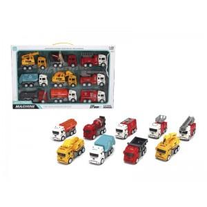 Pack de 9 Camiones Infantil